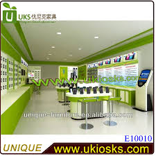 Mobile Display Cabinet Hot Sale Mobile Phone Shop Interior Designmobile Shop Decoration