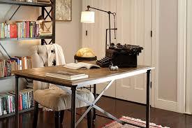 stylish office. Chic Stylish Office Table Design Noe Valley Home Lauren S