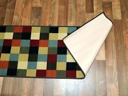 rubber backed carpet runners rugs by the washable machine rubb rubber backed rugs