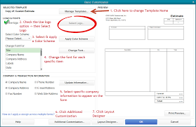 quickbooks tip how to add a logo and customize your forms 7 steps to customizing a quickbooks form