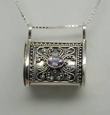 cremation urn necklace