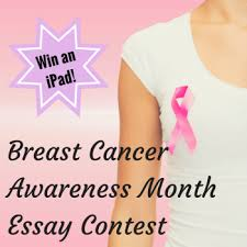 breast cancer awareness month essay contest