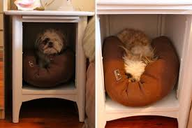 furniture dog bed. roundup 15 furniture turned pet bed projects dog