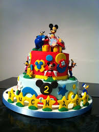 Mickey Mouse Clubhouse Birthday Smash Cake Wedding Academy