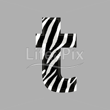 zebra font lower case t 3d ilration royalty free stock photos ilrations and 3d letters fonts