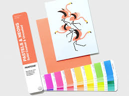 Pantone Pastels Neons Color Fan 2019