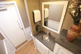 bathroom trailer rental. Contemporary Bathroom The Cottage 2 Stall Luxury Restroom Trailer Rental To Bathroom D