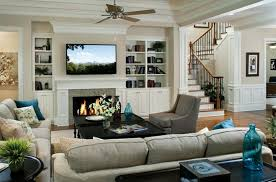 traditional living room ideas with fireplace and tv. Photo 1 Of 7 Turquiose Toss Pillows For Traditional Living Room Ideas With Decorative Fireplace And Cute TV (superior Tv I