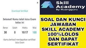We did not find results for: Soal Kunci Jawaban Skill Academy Kartu Prakerja Strategi Efektif Untuk Menjual Apapun Dengan Mudah