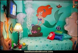 Little Mermaid Ariel Theme Bedroom   Mermaid Decor   Disney The Little  Mermaid Decor   Mermaid