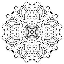 Free Coloring Book Design Software Mandala Design From Colorfeel App Mandala Coloring