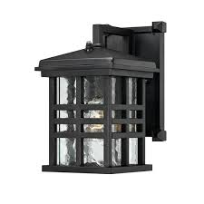 westinghouse caliste outdoor wall lantern with dusk to dawn sensor and clear water glass relightdepot com