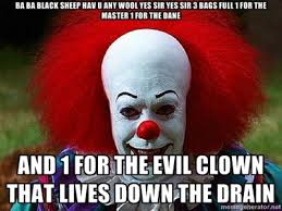 Clowns on Pinterest | Scary Clowns, Meme and Clown Makeup via Relatably.com