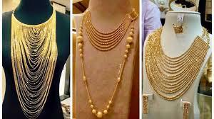 Tlc Jewelry Designs Latest Dubai Gold Jewellery Necklace Designs Jewel Fashion