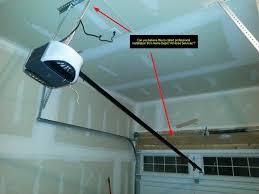 installing a garage door openerDIY fix  Home Depot Installation Service Fail Garage Door opener