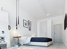 Small Bedroom Stool Bedroom Granite Flooring White Brick Wall Decor Picture Frame