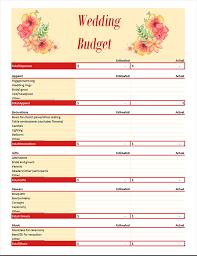 Wedding Budget Planner