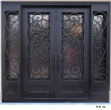 wrought iron exterior doors. Iron Entry Doors For Home Wrought In Ideas Style Exterior R