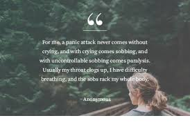 Panic Attack Quotes Impressive Panic Disorder Causes Symptoms And Treatment