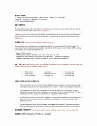 Resume Format For Mba Freshers In Finance Awesome Account