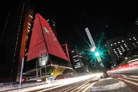Sao Paulo Red Light Brazil Sao Paulo Lighting Ceremony Prc 70th Founding