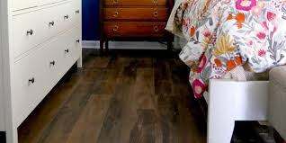 can you believe this flooring is l and stick vinyl and costs under a