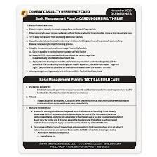 Classes are limited to the first 20 soldiers to register. Combat Casualty Reference Card North American Rescue