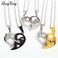 creative detachable half love heart