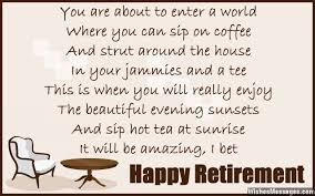 Funny Retirement Quotes Simple Funny Retirement Poems