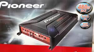pioneer gm a4604 4 channel car amplifier 409 900 en mercado libre pioneer gm a4604 4 channel car amplifier