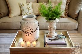 Decorating A Coffee Table Tray 100 TIPS TO STYLE A COFFEE TABLE LIKE A PRO StoneGable 2