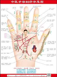 Hand Reflection Chart Us 9 54 17 Off 4 Charts Of Reflection Zone Charts Hand Foot Facial Spine Home Health Care Massage Guasha Acupuncture Chinese Edition In