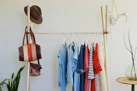 Make your own clothing rack (abeautifulmess.com) ...