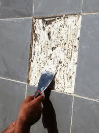 remove tile glue