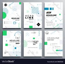 Membership Booklet Template Presentation Booklet Cover Template A4 Vector Image