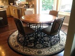 round rugs for dining room high round dining table round rugs for dining room best round
