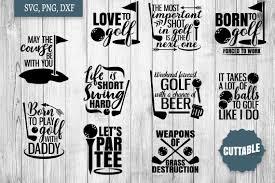 Pearl antino melanin_poppin_svg baseball cap adjustable dad hats for men women golf hat black. Golf Svg Bundle Golfer Quote Cut Files Golf Quote Svgs 216058 Svgs Design Bundles