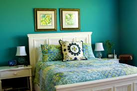 Teal And Yellow Bedroom Decor 21