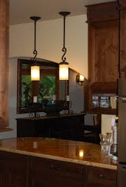 pendulum lighting in kitchen. Bar Pendant Lighting. Wrought Iron Light Stems, Polished Sandstone Counter Lighting C Pendulum In Kitchen