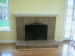 traditional fireplace tile designs