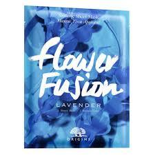 <b>Flower Fusion Lavender</b> Sheet Mask - <b>Origins</b>   MECCA