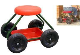 garden seat on wheels. Garden Stool With Wheels Seat On Gardening Bar Stools G