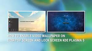 Lock Screen in KDE Plasma 5 ...