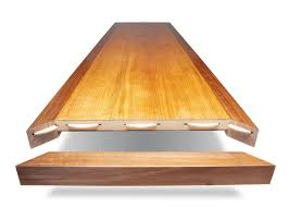 resawn veneer top por woodworking