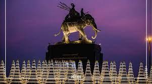 บุรีรัมย์ ลงขันร่วมสร้างฉัตร 9 ชั้น ยอดทองคำเปลว 360 ต้น  ถวายพระบรมราชานุสาวรีย์ รัชกาลที่ 1