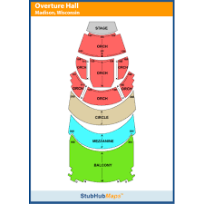 Overture Seating Chart Overture Center Madison Event Venue Information Get Tickets