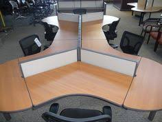 word 39office desks workstations39and. This Six-person Dogbone Cubicle Is Composed Of Herman Miller Degree Pods  With Boomerang Work Surfaces, Tall X Wide Divider Panels, And Additional Word 39office Desks Workstations39and R
