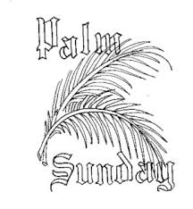 Small Picture Beautiful palm sunday coloring pages and clip art pictures 2