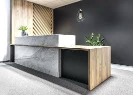 Office Reception Desk Design Reception With Front Desk Design Office Beauteous Office Front Desk Design
