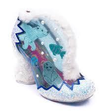 Irregular Choice Shoe Size Chart Details About Irregular Choice Fuzzy Mcfrosty Silver Multi Ice Heels Shu Size